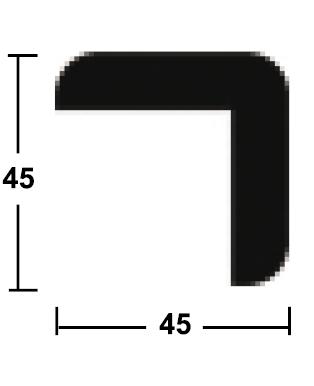 lišta rohová vnější 45/45/2400