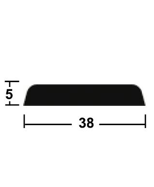 lišta krycí 5/38/2400