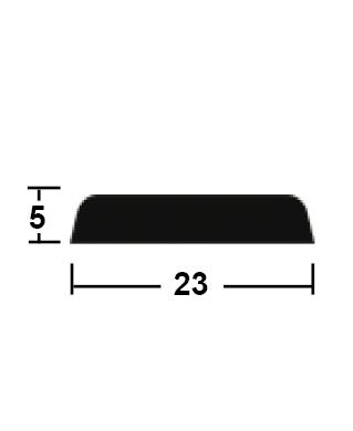 lišta krycí 5/23/2400