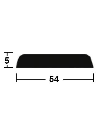 lišta krycí 5/54/2400