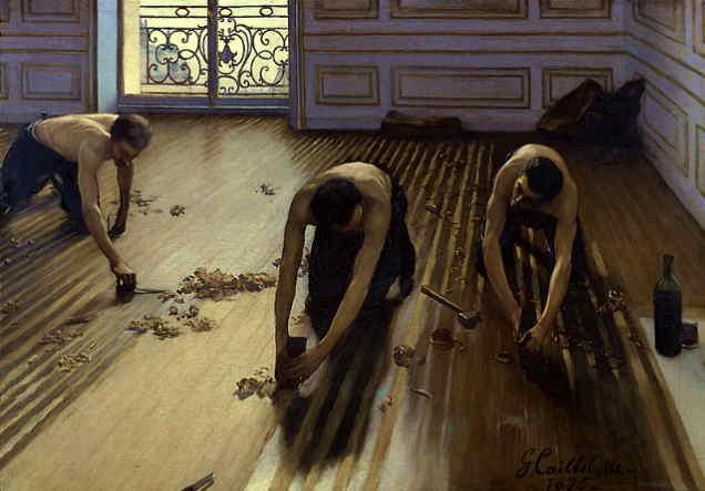 Stručná historie dřevěných podlah