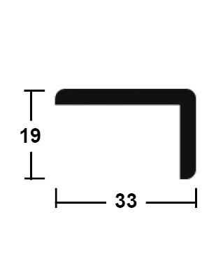 lišta rohová vnější 19/33/2400