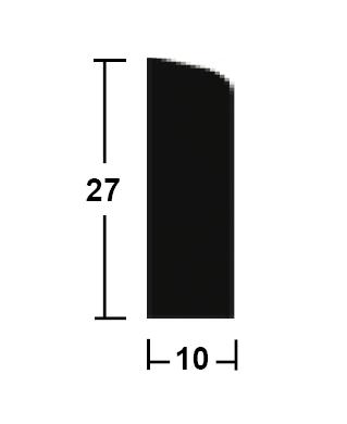 lišta rohová vnitřní 10/27/2400